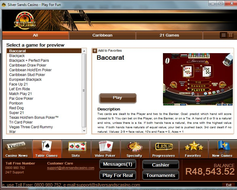 silversands online casino free online games ohne download